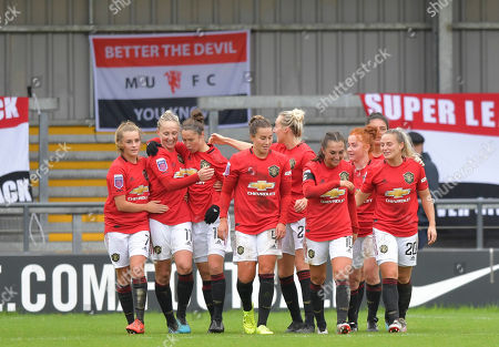 Editorial photo of Tottenham Hotspur Women v Manchester United Women, Barclays FA Women's Super League, Football, The Hive Stadium, London, UK - 13 Oct 2019