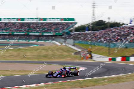 Stock Image of Motorsports: FIA Formula One World Championship 2019, Grand Prix of Japan, 