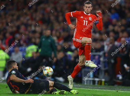 Editorial photo of Wales v Croatia, UEFA Euro 2020 Qualifying Group E, Football, Cardiff City Stadium, Wales, UK - 13 Oct 2019