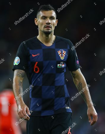 Dejan Lovren of Croatia