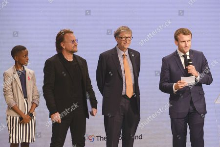 Editorial photo of Global Fund conference, Lyon, France - 10 Oct 2019