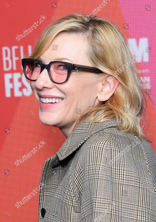 Cate Blanchett (arriving unexpectedly)