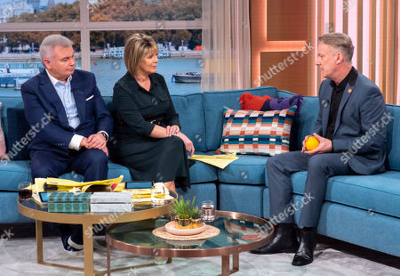 Eamonn Holmes and Ruth Langsford with Stephen Tompkinson