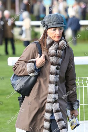 Deidre Johnson, wife of Trainer Mark Johnson during the October Finale Meeting at York Racecourse, York