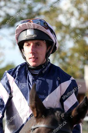 Stock Photo of Jockey James Sullivan during the October Finale Meeting at York Racecourse, York