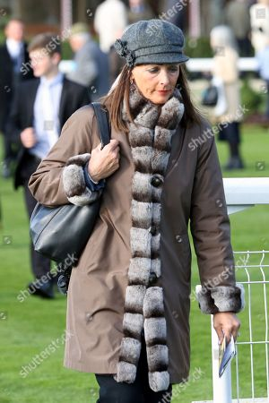 Stock Image of Deidre Johnson, wife of Trainer Mark Johnson during the October Finale Meeting at York Racecourse, York