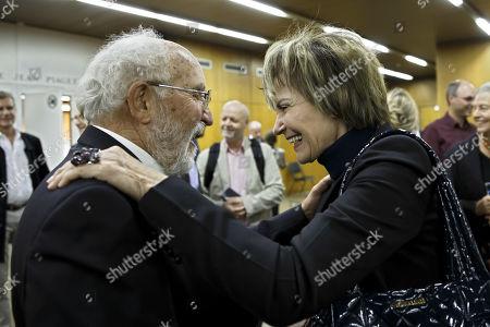 Editorial image of Nobel Prize in Physics laureate Michel Mayor speaks in Geneva, Geneva Geneve Genf, Switzerland - 11 Oct 2019