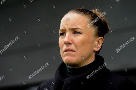Editorial photo of Tottenham Hotspur Women v Manchester United Women, Barclays FA Women's Super League, Football, The Hive Stadium, London, UK - 13 Oct 2019