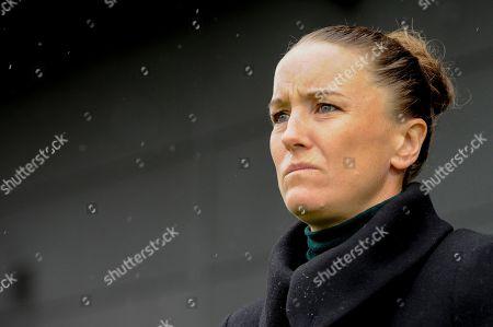 Editorial image of Tottenham Hotspur Women v Manchester United Women, Barclays FA Women's Super League, Football, The Hive Stadium, London, UK - 13 Oct 2019