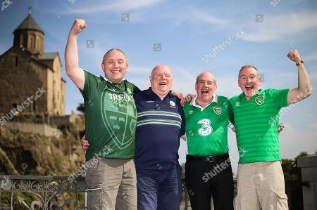 Editorial image of Republic of Ireland Fans In Georgia  - 11 Oct 2019