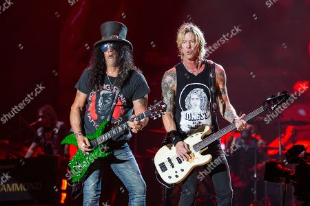 Guns N' Roses - Slash and Duff McKagan
