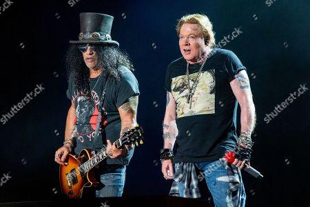 Guns N' Roses - Axl Rose and Axl Rose