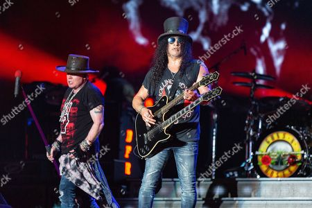 Guns N' Roses - Axl Rose and Slash