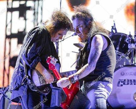 Stock Photo of The Cure - Robert Smith and Simon Gallup