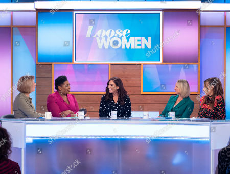 Kaye Adams, Brenda Edwards, Vicky Pattison, Carol McGiffin and Stacey Solomon