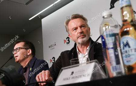 Editorial image of Sam Neill press conference, 52nd Sitges Film Festival, Spain - 11 Oct 2019