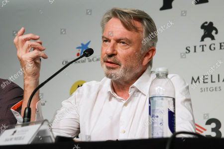 Editorial photo of Sam Neill press conference, 52nd Sitges Film Festival, Spain - 11 Oct 2019