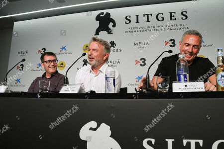 Editorial picture of Sam Neill press conference, 52nd Sitges Film Festival, Spain - 11 Oct 2019