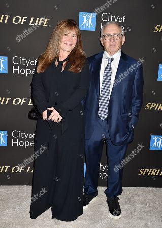 Stock Picture of Shelli Azoff, Irving Azoff