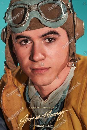 Midway (2019) Poster Art. Keean Johnson as Chief Aviation Radioman James Murray