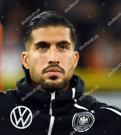 Emre Can   Football   BRD-Argentina  24.8.2019  in Dortmund.