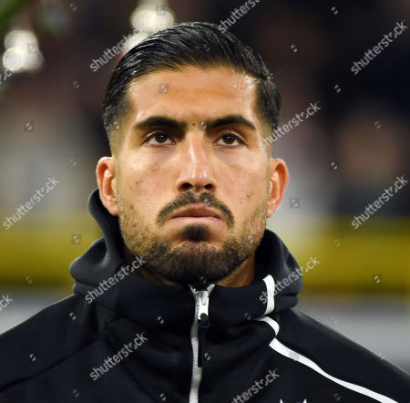 Stock Image of Emre Can   Football   BRD-Argentina  24.8.2019  in Dortmund.