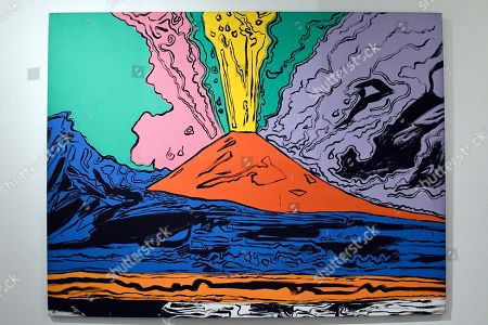 Stock Picture of Andy Warhol, ' Vesuvius ' 1985
