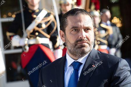 Editorial image of Lebanese Prime Minister Saad Hariri visit to France - 20 Sep 2019