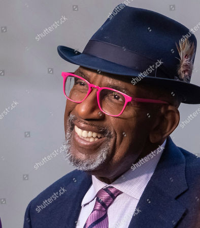 Al Roker appears on NBC's Today show at Rockefeller Plaza, in New York