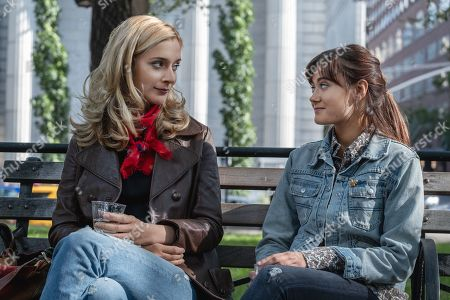 Caitlin Fitzgerald as Simone and Ella Purnell as Tess