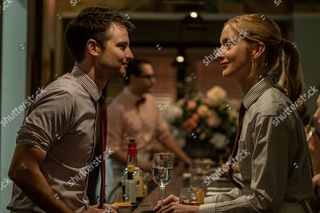 Tom Sturridge as Jake and Caitlin Fitzgerald as Simone