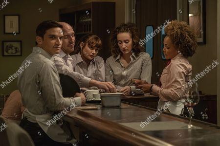 Evan Jonigkeit as Will, Daniyar Aynitdinov as Sasha, Ella Purnell as Tess, Eden Epstein as Ariel 'Ari' and Jasmine Mathews as Heather