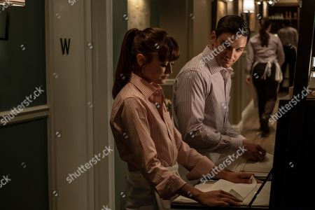 Stock Picture of Ella Purnell as Tess and Evan Jonigkeit as Will