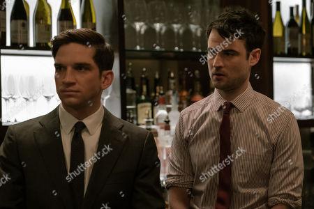 Evan Jonigkeit as Will and Tom Sturridge as Jake