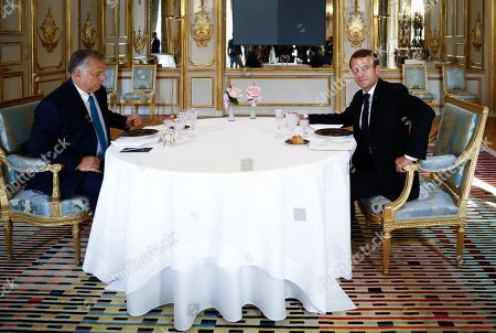 Editorial image of Prime Minister of Hungary Victor Orban visit to Paris, France - 11 Oct 2019