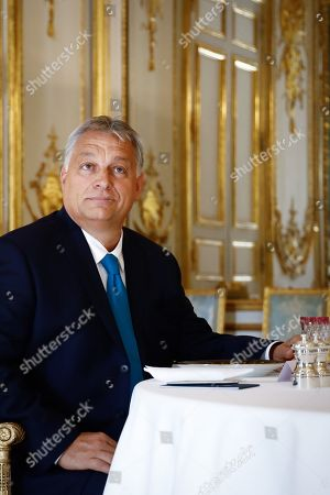 Editorial photo of Prime Minister of Hungary Victor Orban visit to Paris, France - 11 Oct 2019