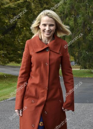 Lumi Labs Cofounder and Former CEO and President of Yahoo, Marissa Mayer attends the Women in Tech Forum event in Helsinki