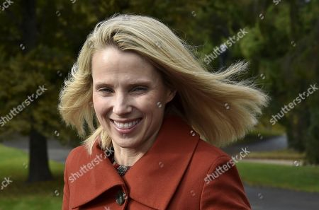 Stock Image of Lumi Labs Cofounder and Former CEO and President of Yahoo, Marissa Mayer attends the Women in Tech Forum event in Helsinki