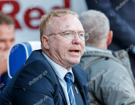 Rangers Manager Alex McLeish