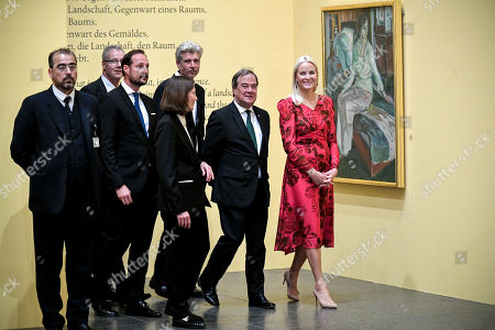 Editorial picture of Edvard Munch exhibit at K20 in Duesseldorf, Germany - 11 Oct 2019