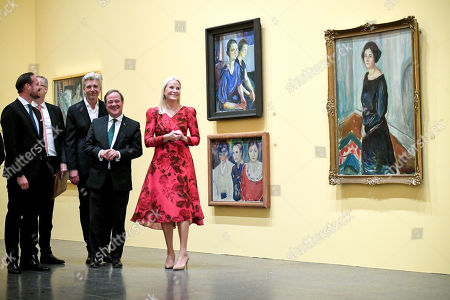 Editorial photo of Edvard Munch exhibit at K20 in Duesseldorf, Germany - 11 Oct 2019