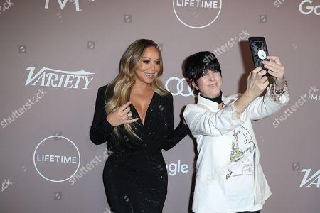 Mariah Carey and Diane Warren