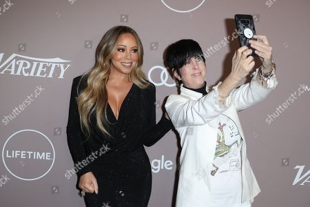 Stock Picture of Mariah Carey and Diane Warren