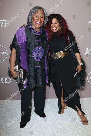 Sandra Coleman and Chaka Khan