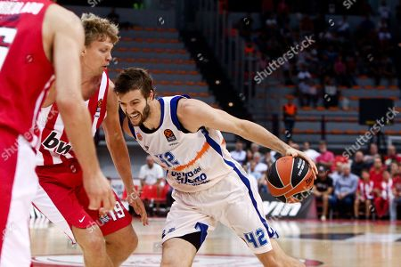 Editorial image of Olympiacos Piraeus vs Valencia Basket, Greece - 11 Oct 2019