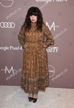 Daisy O'Dell arrives at Variety's Power of Women, at the Beverly Wilshire hotel in Beverly Hills, Calif