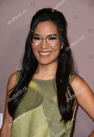 Ali Wong arrives at Variety's Power of Women, at the Beverly Wilshire hotel in Beverly Hills, Calif