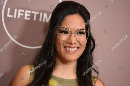 Stock Image of Ali Wong arrives at Variety's Power of Women, at the Beverly Wilshire hotel in Beverly Hills, Calif