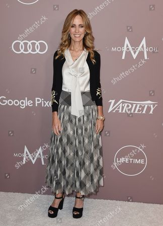 Dana Walden arrives at Variety's Power of Women, at the Beverly Wilshire hotel in Beverly Hills, Calif