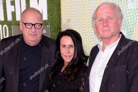 Jon Landau, Barbara Carr and George Travis